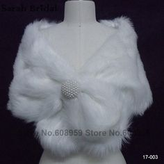 Cheap wedding shawl, Buy Quality bridal jacket directly from China faux fur wrap Suppliers: Hot Sale New In Stock Faux Fur White Wraps Bridal Jacket Coat Wedding Accessories Beaded Wedding Shawls and Wraps Faux Fur 17003