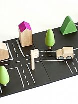 Machi Magnetic Chalkboard Town Set Toddler Gifts, Toddler Toys, Magnetic Chalkboard, Toys Shop, Radiator Springs, Norman, Factories, High Standards, Magnets
