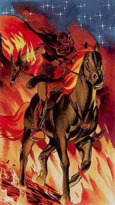 Knight of Wands - Initiatory Tarot of the Golden Dawn by Giordano Berti, Patrizio Evangelisti