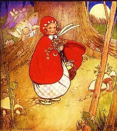 Red Riding Hood - Mabel Lucie Attwell