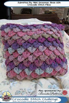 Crocodile-Stitch-Challenge-152-1 by The Crochet Crowd®, via Flickr