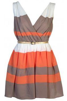 **Cross Bust Mini Dress**