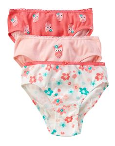 Owl Underwear Three-Pack at Gymboree