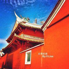 #sky#IG#Taiwan#Tainan#iPhone4#iphoneart#New iPad#雲我愛雲#廟宇 - @yehlisa103- #webstagram