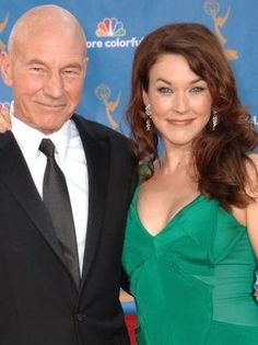 Patrick Stewart Girlfriend Sunny Ozell | Sir Patrick Stewart, best known for his roles as Captain Jean-Luc ...