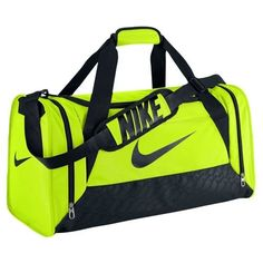 8589bc1a6ae1 The perfect bag to keep all your gear close when you need it! DURABLE  STORAGE AND PROTECTION. The Nike Brasilia 6 (Medium) Duffel Bag is made  from ...