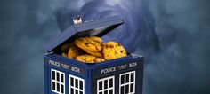 Doctor Who TARDIS Cookie Jar - Take My Paycheck - Shut up and take my money! | The coolest gadgets, electronics, geeky stuff, and more!