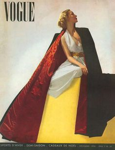 French Vogue Cover - January 1934