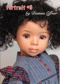 Portrait # 9 by Dianna Effner, 19 Soft Body or All Porcelain Body