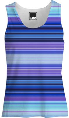 Cool Stripes from Print All Over Me by Nina May Designs