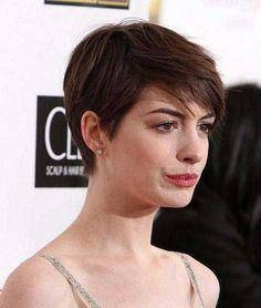 8.Anne Hathaway Pixie