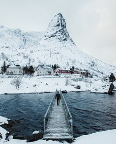 "bryandaugherty: "" Exploring around the small village of Reine, Norway. """