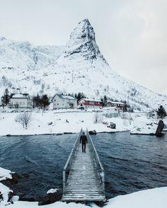 "bryandaugherty: ""Exploring around the small village of Reine, Norway. """