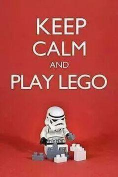 Keep calm and play lego poster. Marvel Dc, Lego Marvel, Star Wars Film, Deco Lego, Keep Calm, Lego Costume, Lego Stormtrooper, Lego Bedroom, Lego Club