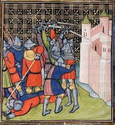 Chroniques de France ou de St Denis Last quarter of the 14th century, after 1380