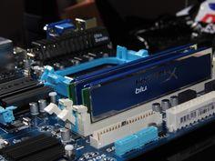 My pc build GigaByte 78lmt-Usb3 MotherBoard AM3+  Kingston HyperX DDR3 1666mhz 2x4GB Modules