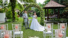 Beautiful wedding scheme at Four On Drupadi Seminyak