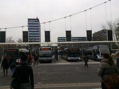 Busstation Eindhoven in Eindhoven, Noord-Brabant