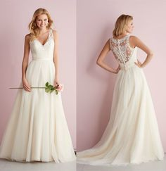 Lace dress with dramatic lace detailing on the back