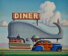 """Daily Paintworks - """"Whale"""" by Robert LaDuke"""