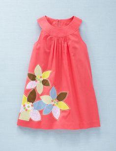 mini boden pretty applique dress