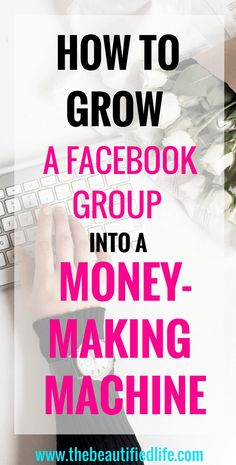 How to start a Facebook group and turn it into a money-making machine. Creating a profitable Facebook group will quadruple your sales, email list, and blog traffic. Among other things! #howtogrowafacebookgroup #facebook #bloggingtips #blogging