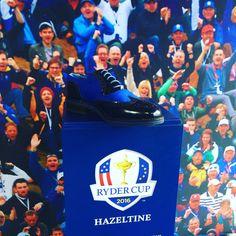 In attesa della #rydercup 2016 #raimondi #golfshoes #opendefrance #madeinitaly #handmadeinitaly #originali #golf