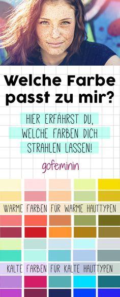 Welche Farbe Passt Zu Mir Ser Test Verrät Es Dir