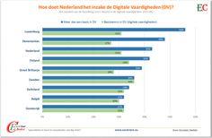 Hoe doet Nederland het m.b.t. kennis in de Digitale Vaardigheden?
