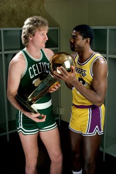 Magic VS Bird. Lakers VS Celtics.