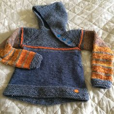 """Knitted """"Oslo anorak"""". Size 2 year."""