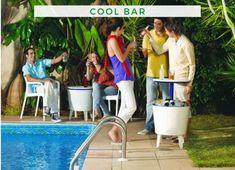 Bar Ideen: 3 in 1! Die Cool Bar kombiniert Kühlbox, Bistro- und Beistelltisch in Einem und ist somit der perfekte Begleiter für einen stimmungsvollen Party- oder Grillabend. Cool Stuff, Cool Bars, Bar Ideas, Garden Parties, Get Tan, Cool Things