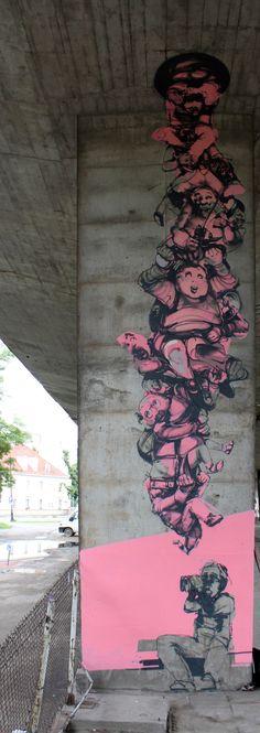 wall by robert proch, via Behance