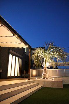 ドッグランリゾートガーデン #lightingmeister #gardenlighting #outdoorlighting #exterior #garden #light #house #home #love #follow #instagram #instagood #instalove #庭 #家 #照明 #エクステリア #施工例 #LEDIUS #ライティングマイスター #ドッグラン #リゾートホテル #ブロック #シンボリック #RGB #dogrun #resorthotel #block #symbolic