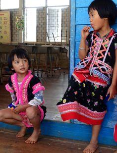 Red Musser children at Ban PhaMon  www.toysforthailand.org
