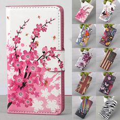 Flip Stand Leather Wallet Card Hard Case Cover For 4.7 Apple iPhone 6 Plus 5.5
