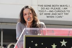 Actress Michelle Rodriguez kept it real, as always, when discussing her bisexuality.