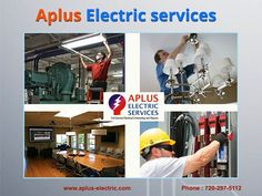 APlus Electric provides a variety of #electrical #services in the areas of metro Denver and front range through a range of electrical specialists in our team like #Residential electricians, commercial electricians, and emergency #electricians. Each and each time you need industrial electric services, APlus is your ideal option.