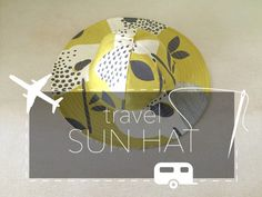 how to sew a travel sun hat