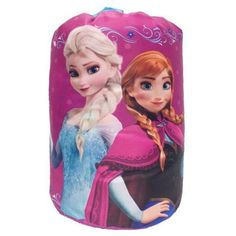Fun Camping Ideas Kids And Adults Will Love Disney Frozen Anna and Elsa Slumber Bag