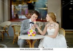 Romantic Couple With Ice Cream At Amusement Park Foto Stock: 160209323 : Shutterstock