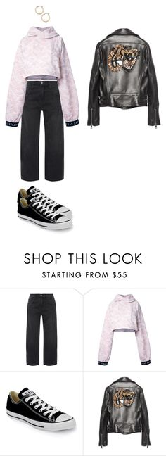 """where are u now that i need ya"" by leilaprins ❤ liked on Polyvore featuring Current/Elliott, STRATEAS.CARLUCCI, Converse, Gucci and Nordstrom"