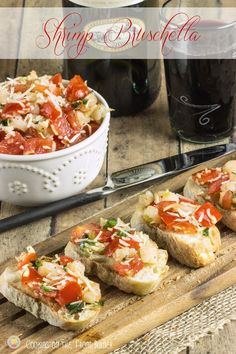 Try without Shrimp Bruschetta | Cooking on the Front Burner #gyco #shrimpbruschetta