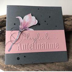 Stampin Up Karten, Sympathy Cards, Stamping Up, Diy Cards, Paper Crafts, Creative, Instagram Posts, How To Make, Boxing