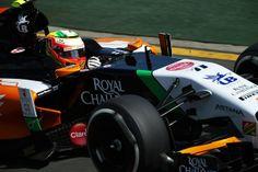 Sergio Perez Sahara Force India