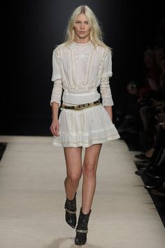 Isabel Marant  Fall 2012  Luv the blouse detailing; interesting sleeves