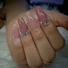 Custom nail design...all powder by Tonysnail