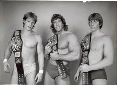 Von Ehric Brothers... I kissed Kerry at Pizza Hut when he was signing autographs! HAHHAH