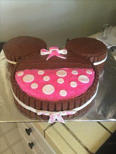 Daniella Minnie Mouse cake