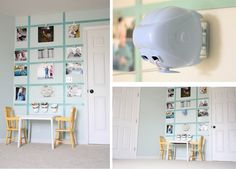 I think I want to do this either in our guest room or in our breakfast nook...
